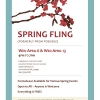 Spring Fling - April 6th and 13th