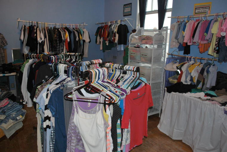 The Clothes Closet Started 13 Years Ago At Methodist Church By Art Eva Hughes When Space Became A Problem They Moved Operation To Whitewater
